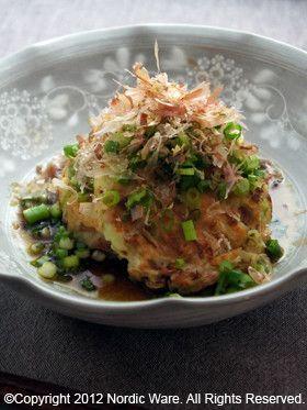 父の日に☆おだしで食べる大和芋お好み焼き by NordicWare ...
