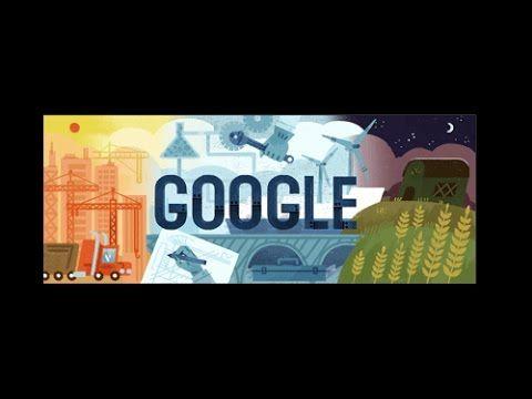 I doodle di Google per il Primo Maggio, festa dei Lavoratori - www.HTO.tv