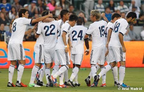 El Real Madrid goleó 5-1 al L.A. Galaxy y emocionó a los 30.317 espectadores que asistieron al Home Depot. ¡Hala Madrid!