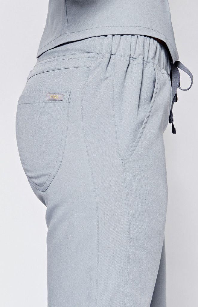 women's santana track scrub pants - limestone