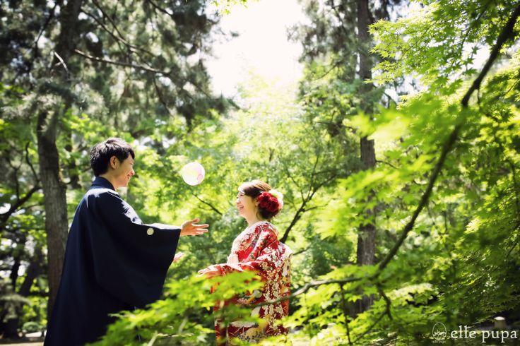 DATE OF JAPAN*at京都御苑 |*ウェディングフォト elle pupa blog*|Ameba (アメーバ)