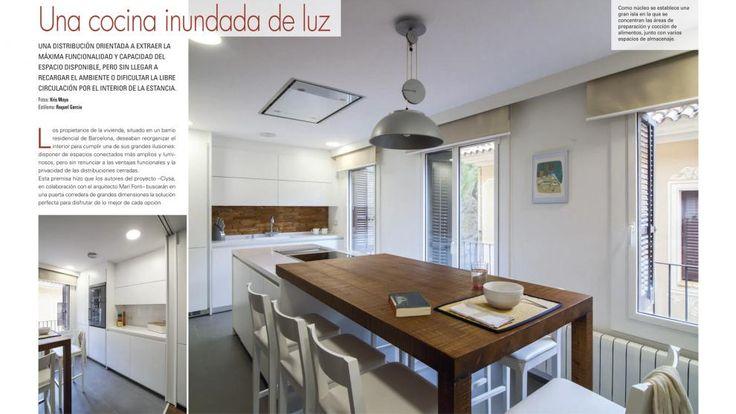 Clysa, tienda exclusiva de la marca de cocinas Santos en Barcelona, finalista en los Premios de Diseño de Cocinas 2015