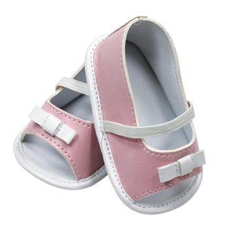Fine sandaler til dukken.