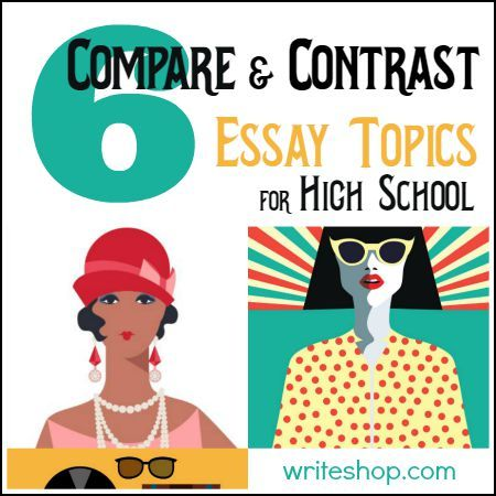 comparison contrast essay between high school college As recent high school graduates and college freshman's many can clarify  similarities and differences between the two some obvious similarities are that  both.