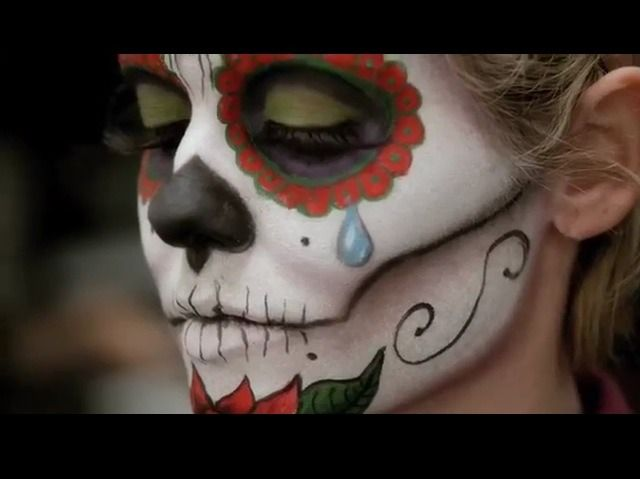 MAC: Day Of The Death Make Up Tutorial