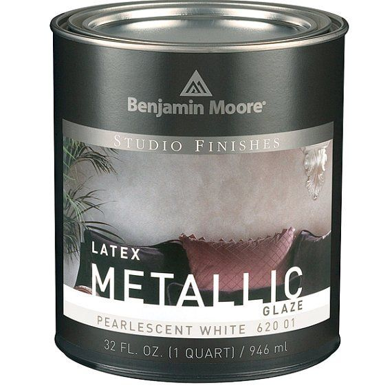 Benjamin Moore Studio Finishes Metallic Glaze 1 Quart