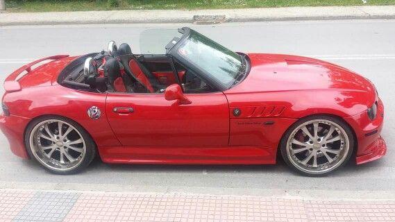 BMW Z3 red