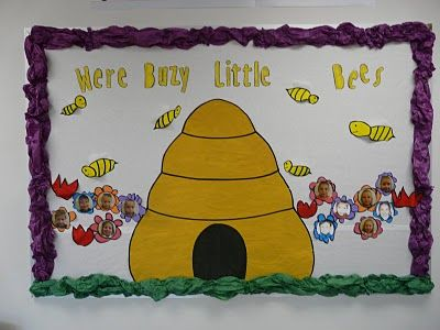 Use This Saying For The Busy Bees Bulletin Board
