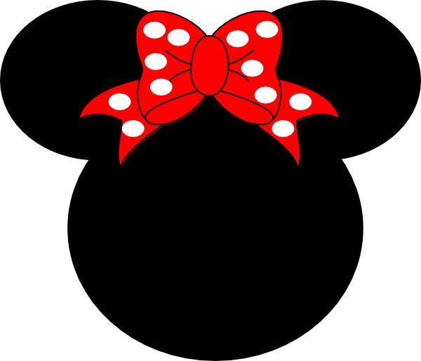 minnie printables | Minnie Mouse clip art - vector clip art online, royalty free & public ...