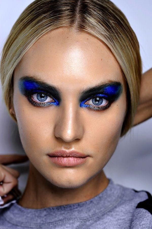 Ber ideen zu lidschatten blaue augen auf pinterest - Smokey eyes blau ...