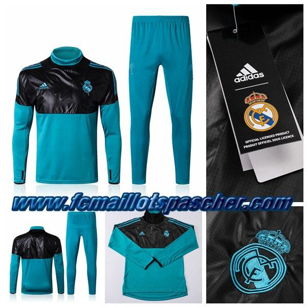 Site Chinois Survetement Adidas Football: Real Madrid Noir