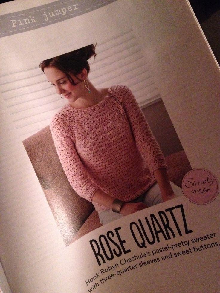 Crochet Magazine Com : Sweater Simply Crochet magazine issue 10 Crochet to Wear Pinterest