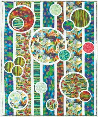 Free Pattern for Illuminate Digitally Printed Fabrics by Flora Bowley - fabrics available at www.CaryQuilting.com