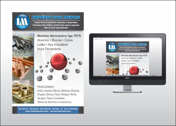 Desenvolvimento de email marketing institucional para indústria metalúrgica