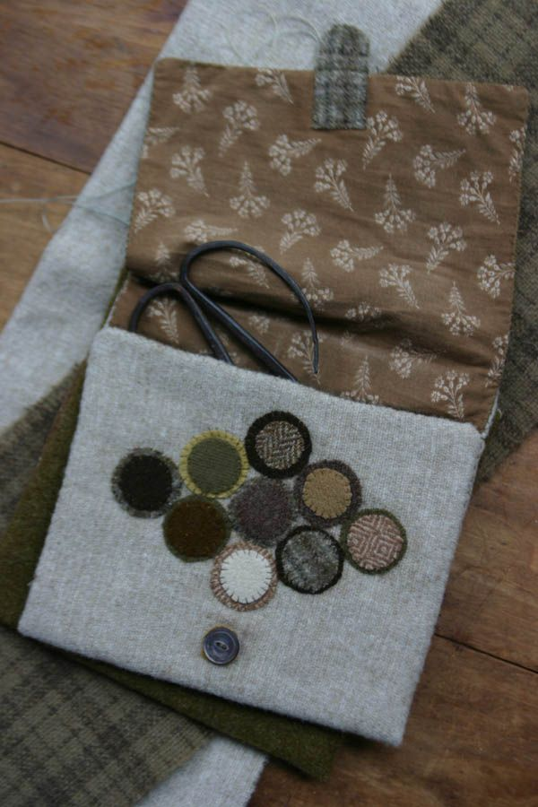 1299 Best Images About Wool Felt Penny Rugs On Pinterest