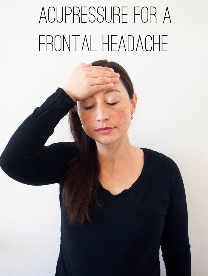 Acupressure frontal headache-4 TEXT