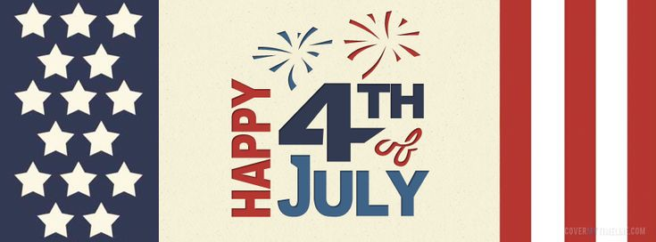 Independence Day – Happy 4th of July Flag  Facebook Timeline Cover on http://www.covermytimeline.com