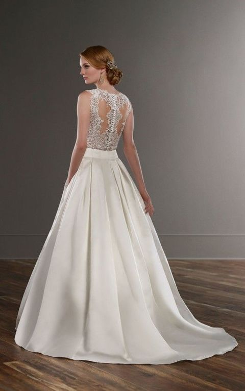 Pleated wedding dresses look chic and they are among the hottest trends for 2017! Many designers that have already launched 2017 collections offered ...