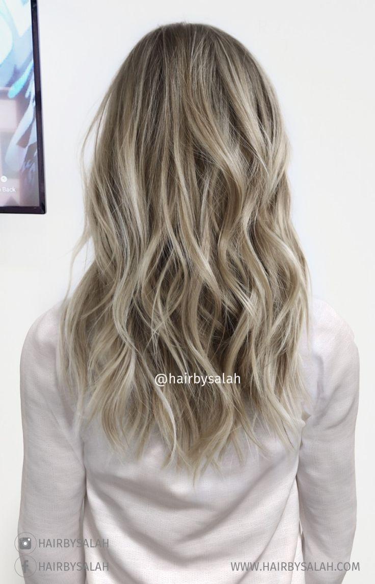 Light ash hair color