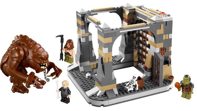 Lego Rancor Pit!  Holy guacamole!