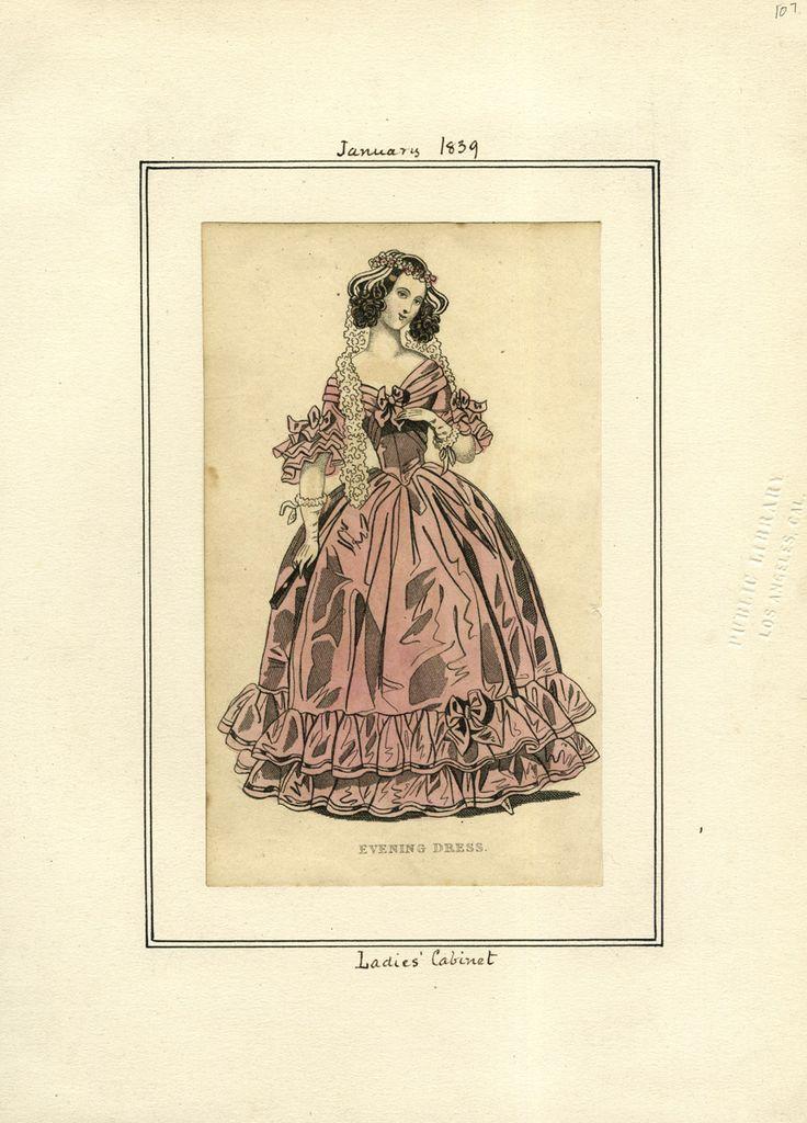 Ladies' Cabinet January 1839 LAPL