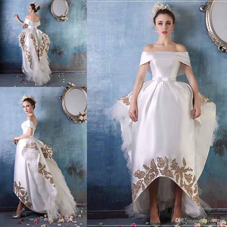 119 best wedding dresses images on Pinterest | Wedding frocks, Short ...