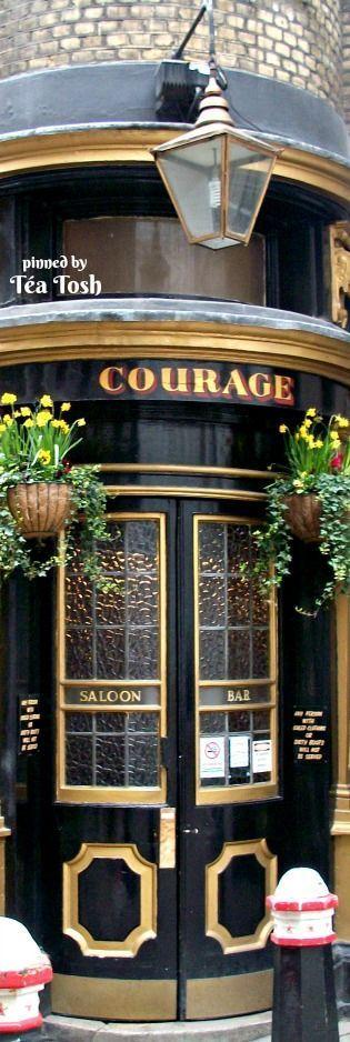 ❇Téa Tosh❇ Old London Pubs | The Cockpit Tavern Entrance