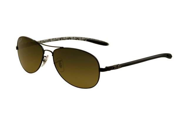 Ray Ban Tech RB8301 Sunglasses Gunmetal Frame Green Mirror