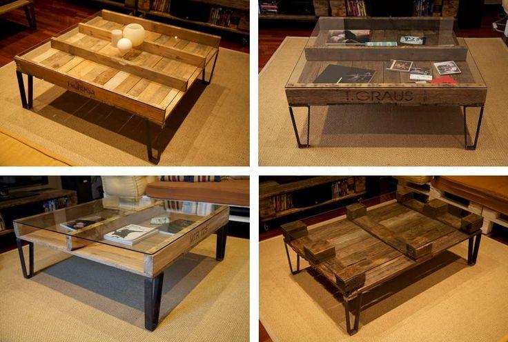 Muebles realizados con palets