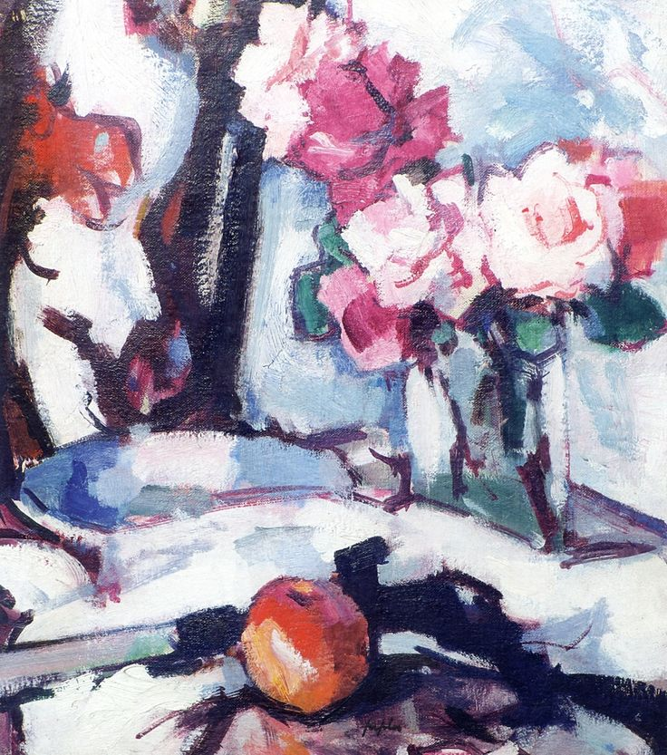 The Athenaeum - Roses and Fan