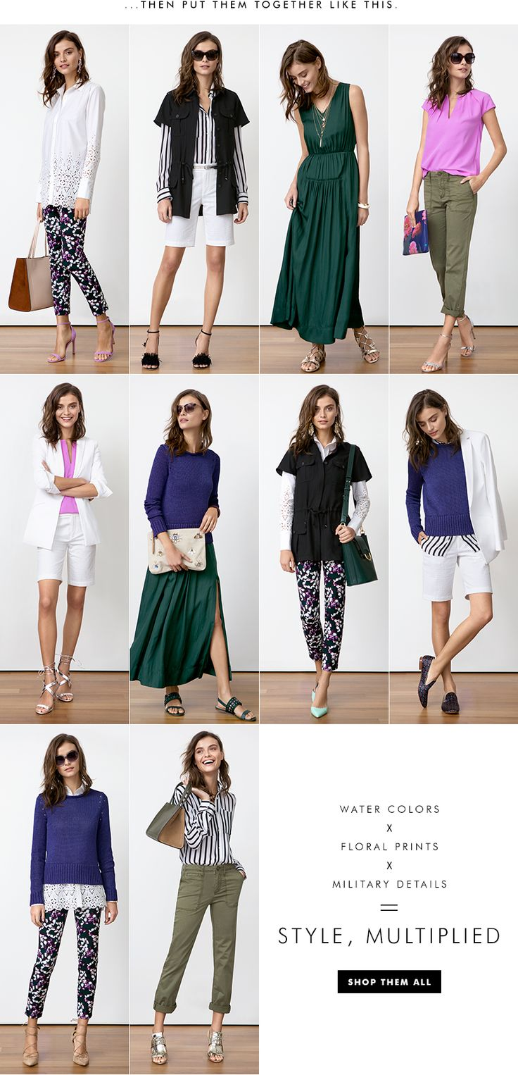 Women's Apparel: 10 Pieces, 10 Outfits