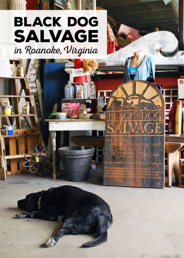A visit to Black Dog Salvage, Home of the Salvage Dawgs, in Roanoke, Virginia | EmBusyLiving.com  #BlackDogSalvage #BlackDog #SalvageDawgs #DIYNetwork #DIY #Salvage #Restoration #ThatSalvageLife #Roanoke #SWVA