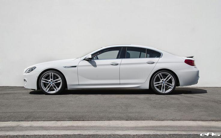 Alpine White BMW 650i Gets Visual Updates http://www.bmwblog.com/2016/09/17/alpine-white-bmw-650i-gets-visual-refreshments-installed/
