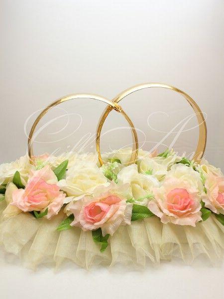 Свадебные кольца на машину Gilliann золотые с розами CAR023, http://www.wedstyle.su/katalog/katalog/ukrashenija-na-mashinu/kolca-na-mashinu/svadebnye-kolca-na-mashinu-gilliann-6214, http://www.wedstyle.su/katalog/katalog/ukrashenija-na-mashinu/kolca-na-mashinu, wedding ideas, wedding decoration on car
