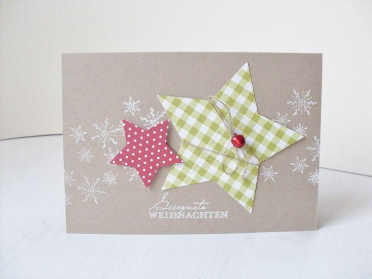 Hier kommen noch die versprochenen restlichen Weihnachtskarten von gestern. Wenn ihr den Post hier lest, bin ich schon auf und davon Richtun...