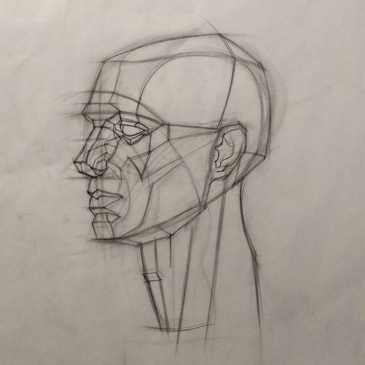 часами рисунок головы человека картинки использовали ламп