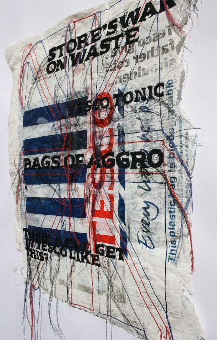Kirsty Whitlock, Bags of Aggro, Photography Somayya Patel