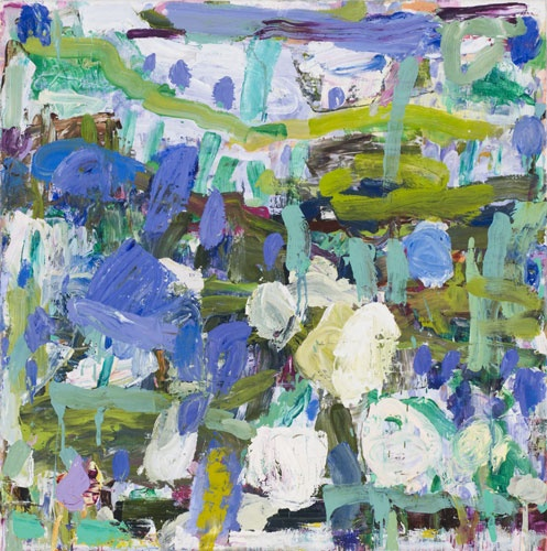 INGRID JOHNSTONE  'Iris'   2009  oil on linen  148 x 148 cm