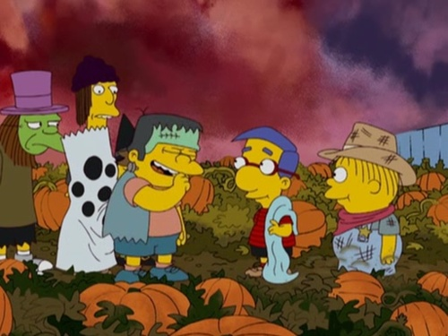 simpsons halloween village hawthorne