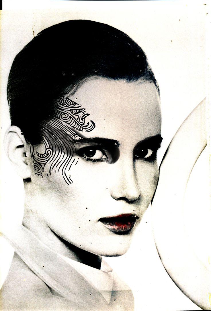 Makeup digital illustration