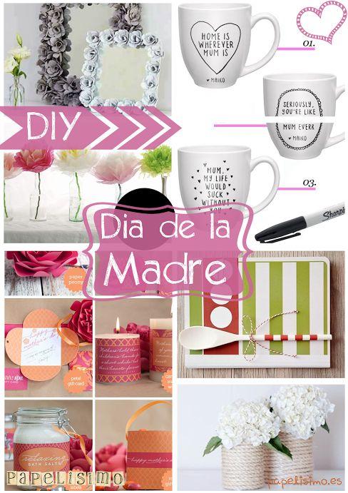 DIY: Regalos día de la madre. Manualidades fáciles y reciclaje. Puedes verlo completo en http://papelisimo.es