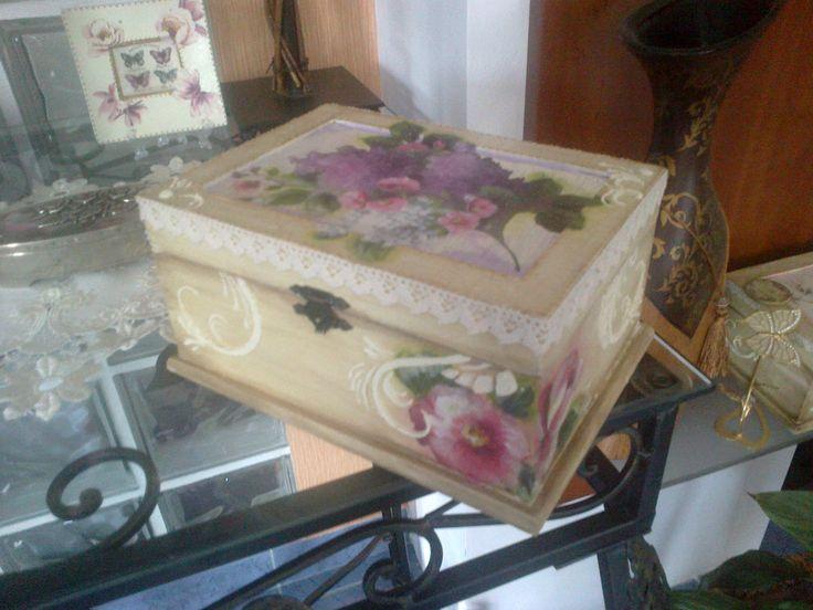 vintage doboz