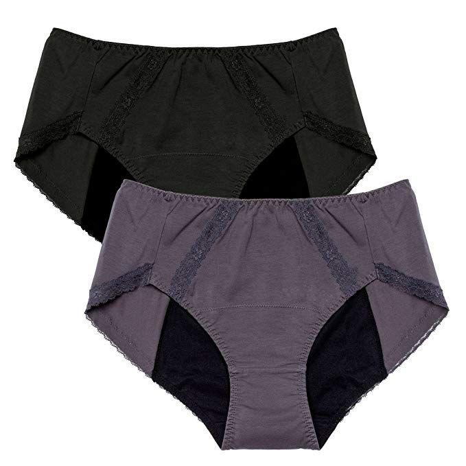 eb1b0cff85e Intimate Portal Women Leak Proof Period Panties Incontinence Menstrual  Underwear at Amazon Women s Clothing store
