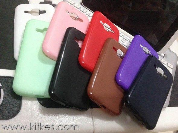 Matte Solid TPU Soft Case Samsung Galaxy J1 - Rp 50.000 - kitkes.com