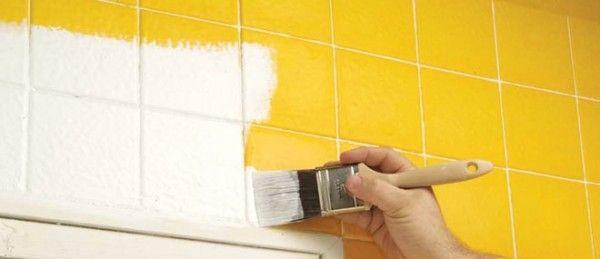 Kako obojiti stare pločice uz pomoć lateks-boje za zidove: bojenje-plocica  DIY