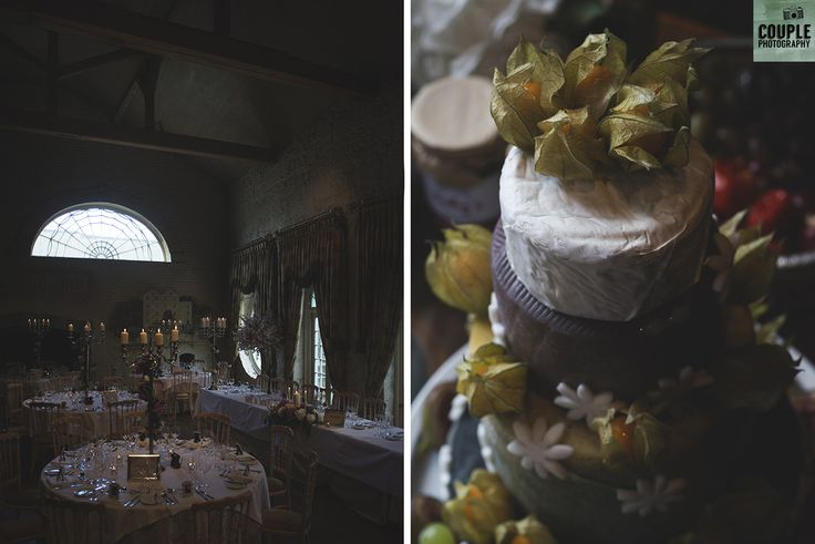so pretty and a cake made of cheese. Wedding by Couple Photography https://www.couple.ie