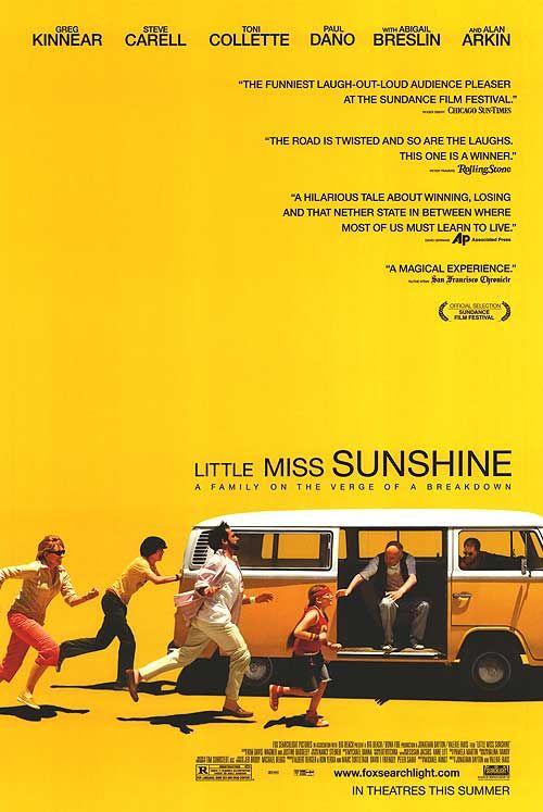 Little Miss Sunshine poster.