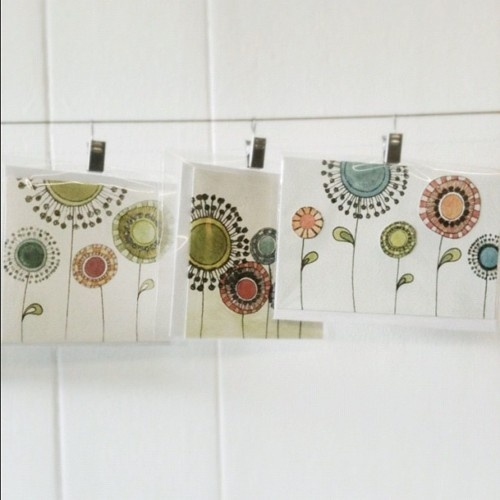 Spring cards now in stock at Makings & Doings