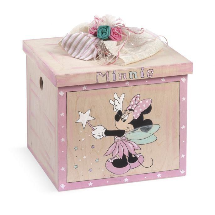 Κουτί Βάπτισης Minnie Νεράιδα - ΠΑΡΙΣΗΣ | Είδη γάμου & βάπτισης