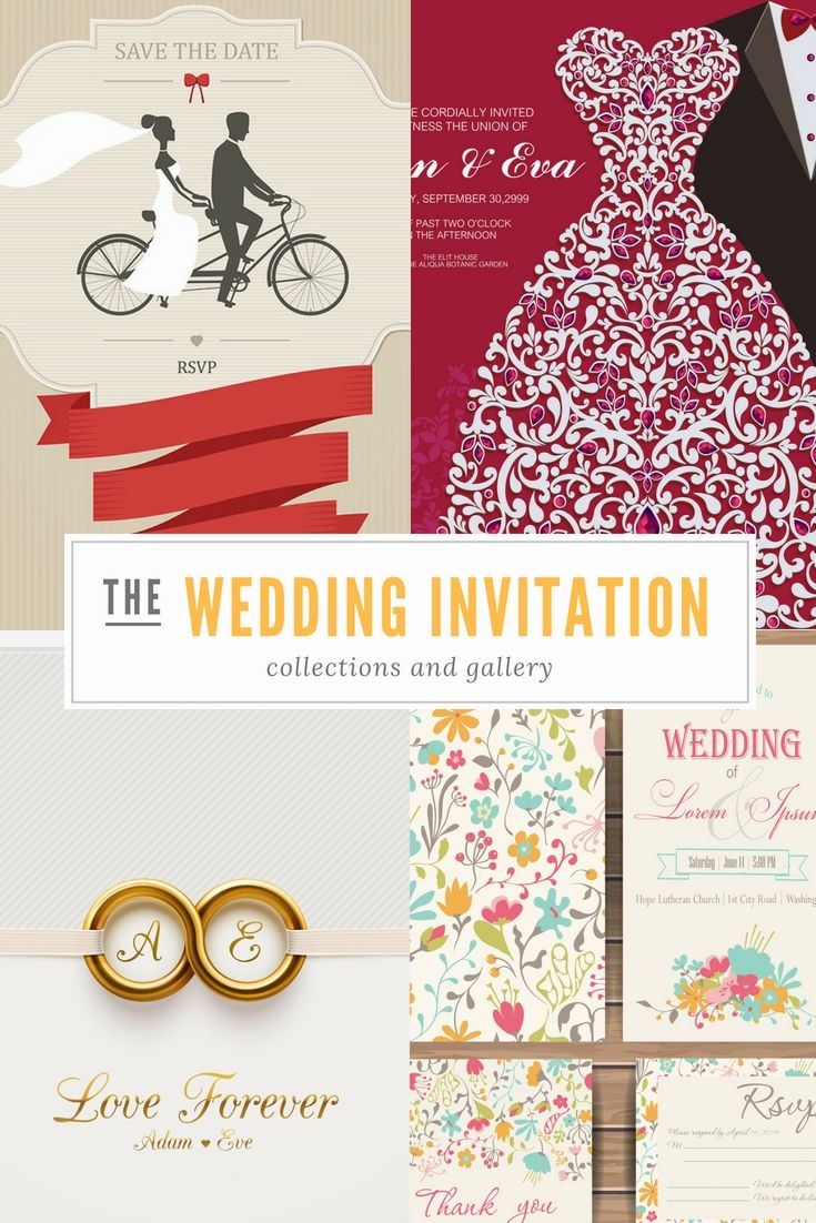 The 3483 best Wedding Card images on Pinterest | Wedding stationary ...